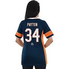 Women's Majestic Chicago Bears Walter Payton Draft Him Fashion Top