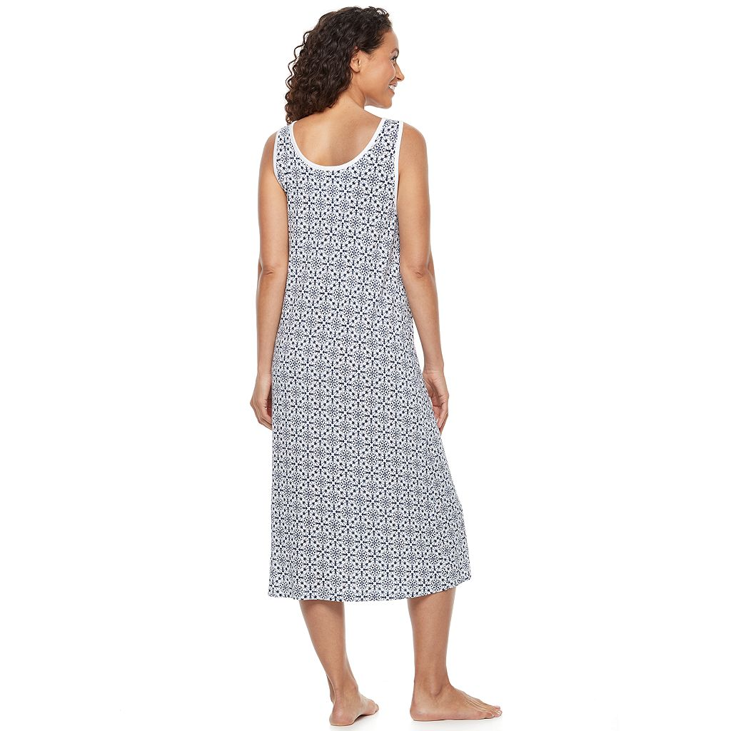 Women's Croft & Barrow® Pajamas: Long Sleepshirt