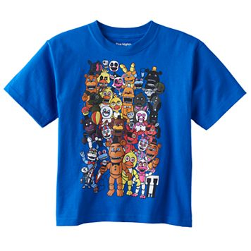 Boys 4-7 Five Nights at Freddy's Graphic Tee