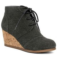 sugar Maybee Women's Wedge Ankle Boots