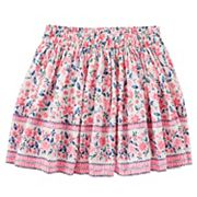 Girls 4-12 OshKosh B'gosh® Floral Twill Skirt