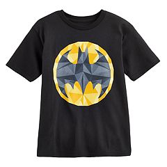 Boys 4-7 DC Comics Batman Geometric Logo Graphic Tee