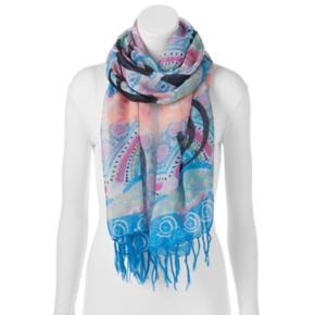 love this life Fringed Oblong Scarf
