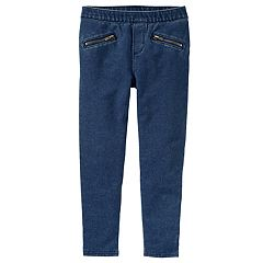 Girls 4-12 OshKosh B'gosh® Super Skinny French Terry Pants