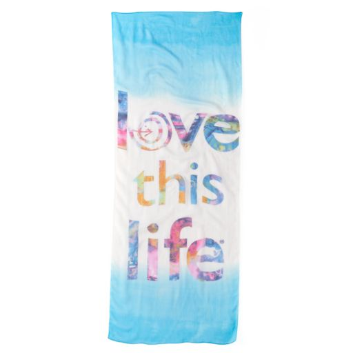 love this life Dip-Dyed Oblong Scarf