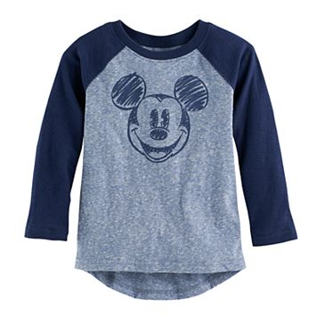 Disney's Mickey Mouse Toddler Boy Slubbed Raglan Long Sleeve Graphic Tee by Jumping Beans®