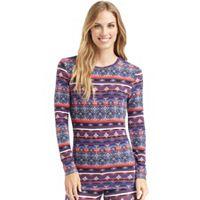Women's Cuddl Duds Softwear Crewneck Top