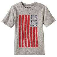 Boys 4-10 Jumping Beans® American Flag Nep Tee