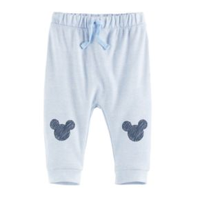 Disney's Mickey Mouse Baby Boy Knee Logo Jogger Pants by Jumping Beans®