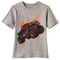 Boys 4-10 Jumping Beans® Monster Truck Nep Tee