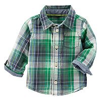 Baby Boy OshKosh B'gosh® Plaid Shirt