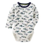 Baby Boy OshKosh B'gosh® Race Car Slubbed Bodysuit
