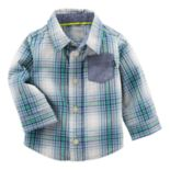 Baby Boy OshKosh B'gosh® Plaid Poplin Shirt