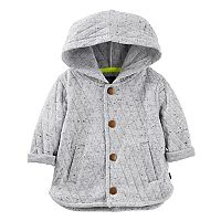 Baby Boy OshKosh B'gosh® Hooded Quilted Cardigan