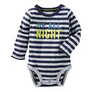 Baby Boy OshKosh B'gosh® 'Up All Night' Graphic Nep Bodysuit