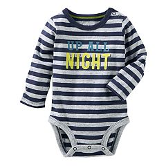 Baby Boy OshKosh B'gosh® 'Up All Night' Graphic Nep Bodysuit