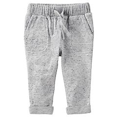Baby Boy OshKosh B'gosh® Nep Cuffed Jogger Pants