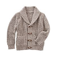 Baby Boy OshKosh B'gosh® Shawl Collar Toggle Sweater