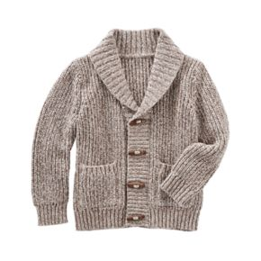 Baby Boy OshKosh B'gosh® Shawl Collar Toggle Sweater