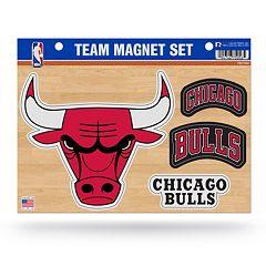 Chicago Bulls Team Magnet Set