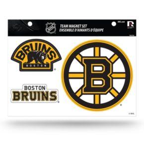 Boston Bruins Team Magnet Set