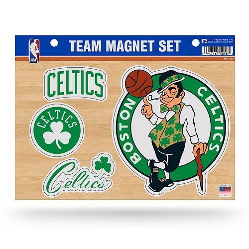 Boston Celtics Team Magnet Set
