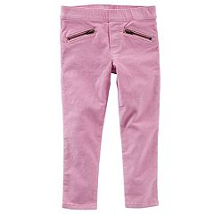 Girls 4-12 OshKosh B'gosh® Pull-On Faux-Velvet Leggings