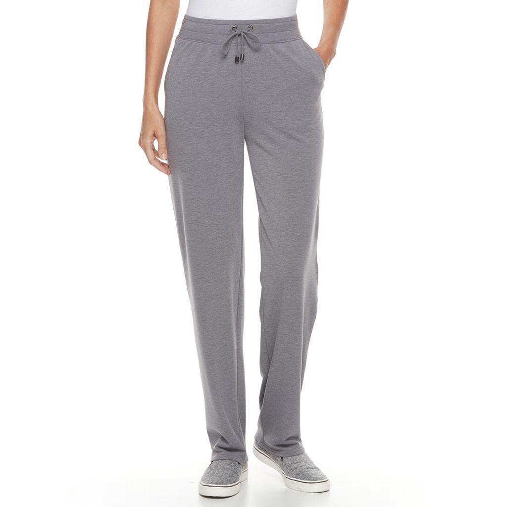 Women's Croft & Barrow® Terry Knit Sweatpants