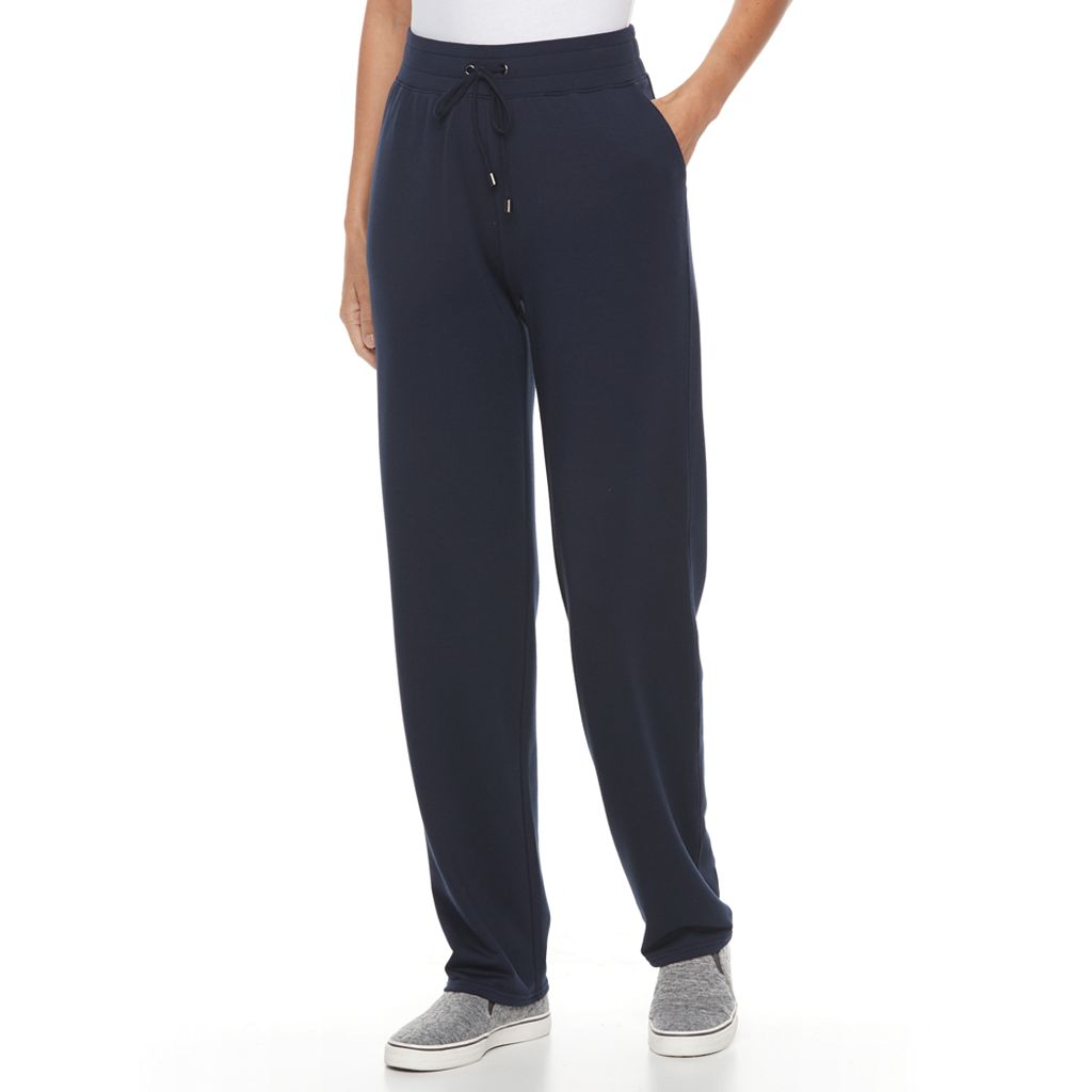 Women's Croft & Barrow® Terry Knit Sweatpants