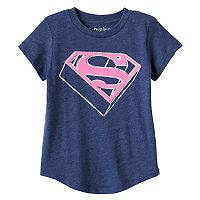 Toddler Girl Jumping Beans® DC Comics Supergirl Glittery Graphic Tee