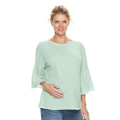 Maternity a:glow Boxy Bell Sleeve Top