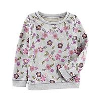 Girls 4-12 OshKosh B'gosh® Floral Print Sweatshirt