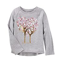 Girls 4-12 OshKosh B'gosh® Raglan Tree Graphic Tee