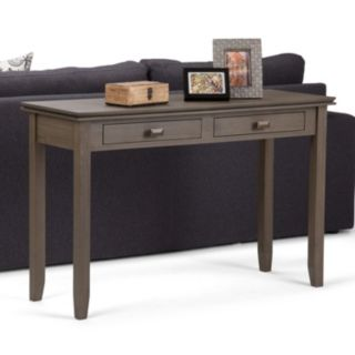 Simpli Home Artisan 2-Drawer Console Table