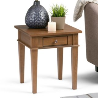 Simpli Home Carlton 1-Drawer End Table