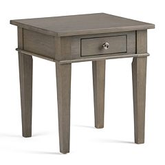 Simpli Home Carlton 1-Drawer End Table