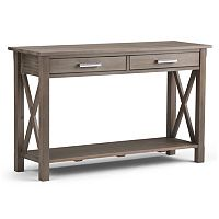Simpli Home Kitchener 2-Drawer Console Table