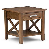 Simpli Home Kitchener 1-Drawer End Table