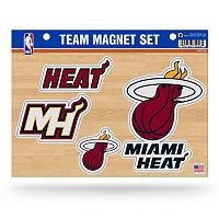 Miami Heat Team Magnet Set