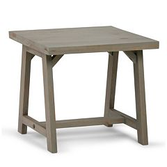 Simpli Home Sawhorse End Table