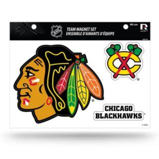 Chicago Blackhawks Team Magnet Set