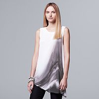 Women's Simply Vera Vera Wang Abstract Asymmetrical Tank