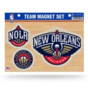 New Orleans Pelicans Team Magnet Set