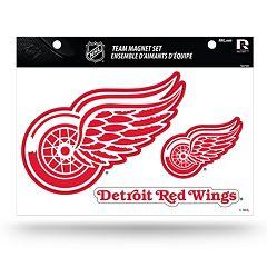 Detroit Red Wings Team Magnet Set
