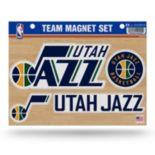 Utah Jazz Team Magnet Set