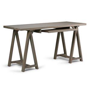 Simpli Home Sawhorse Desk