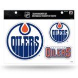 Edmonton Oilers Team Magnet Set