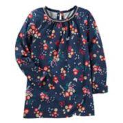 Girls 4-12 OshKosh B'gosh® Floral Knit Tunic