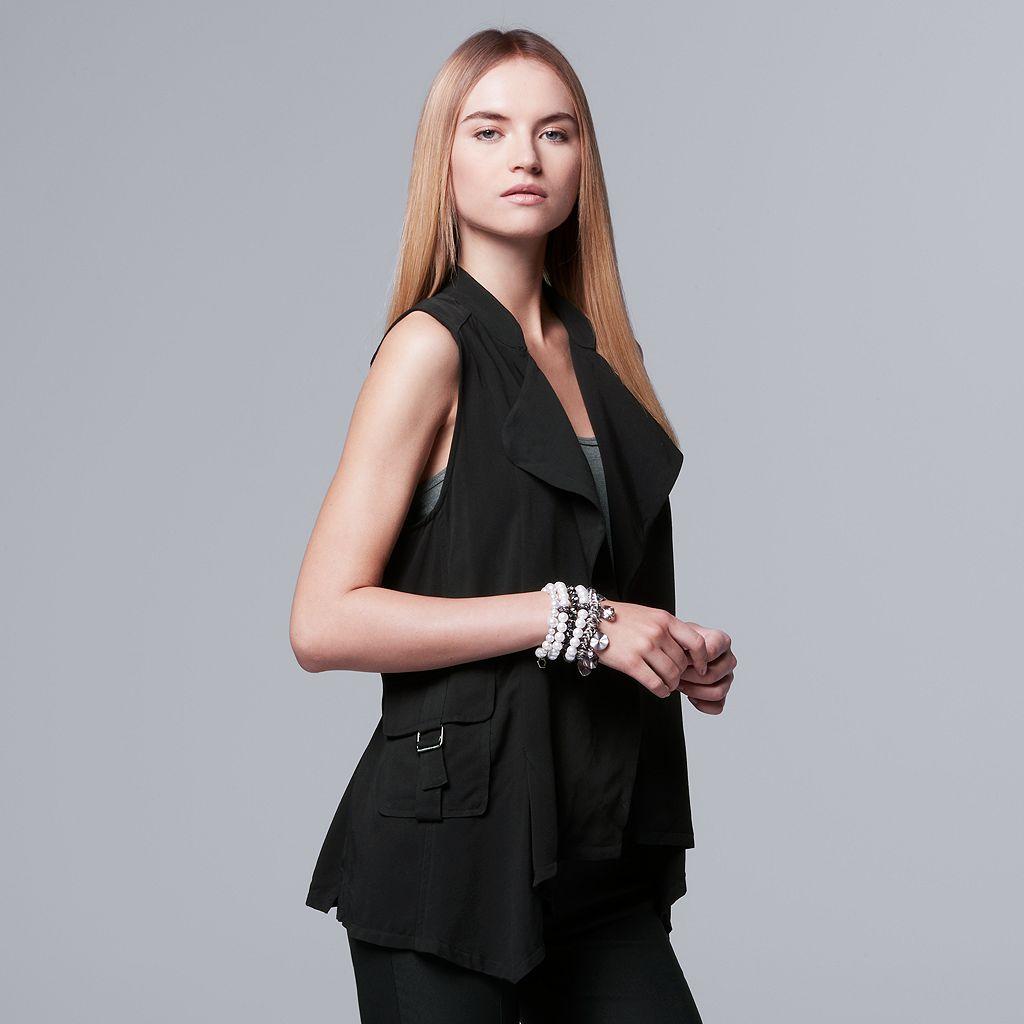 Women's Simply Vera Vera Wang Utility Vest