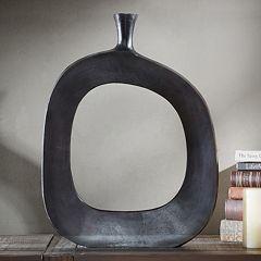INK+IVY Hayes Peek Large Round Vase